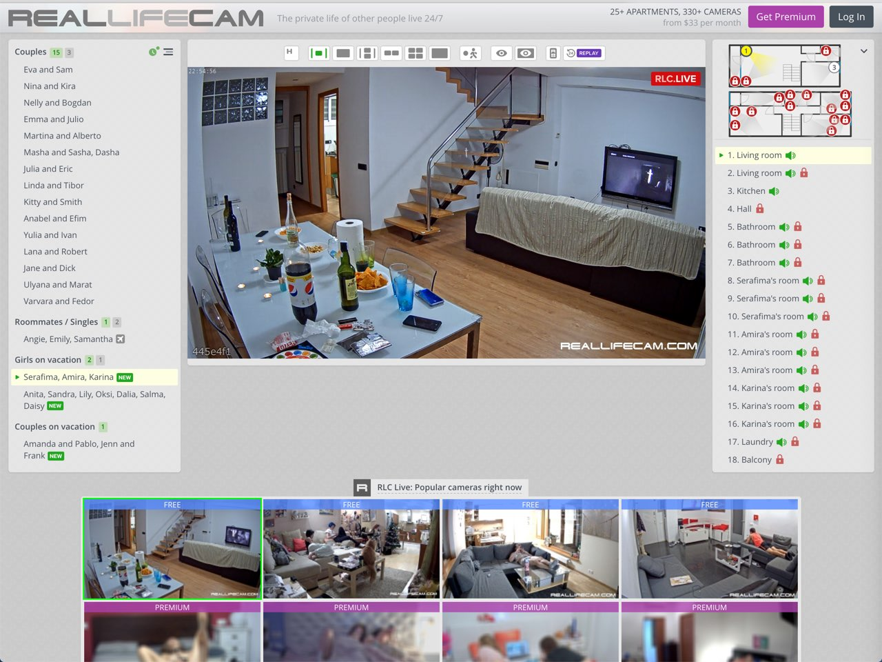 Live reallifecam Top Videos
