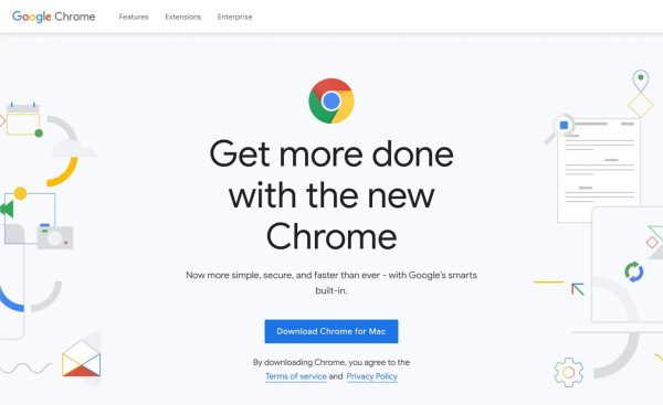 google chrome web browser