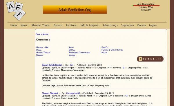 adult-fanfiction.org