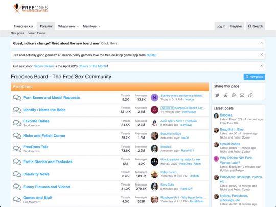 board.freeones.com