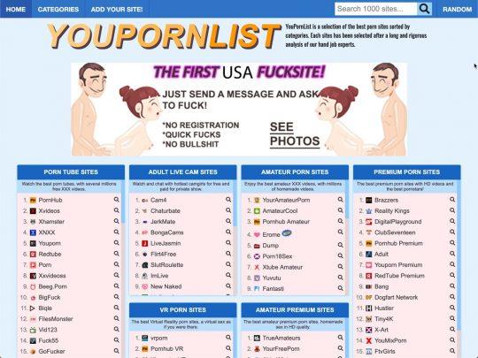 youpornlist.com